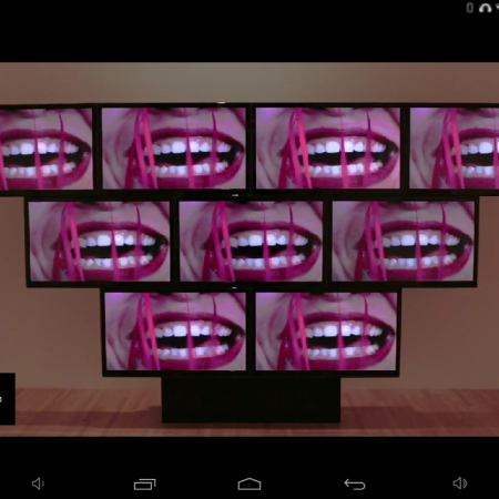 Image snipped from the MOCA YouTube Page
